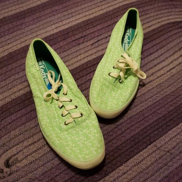 Keds Shoes   Lime Green Keds Size
